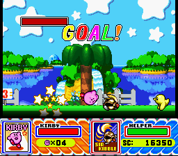 Kirby Super Star - full gauge = 3 1-UPS! WOOP WOOP! - User Screenshot
